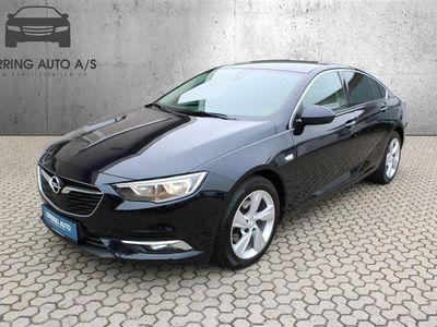 brugt Opel Insignia Grand Sport 1,6 CDTI Dynamic Start/Stop 136HK 5d 6g Aut. - Personbil - mørkblåmetal