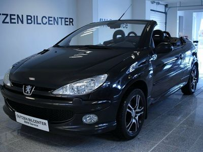 used Peugeot 206 CC 1,6 16V