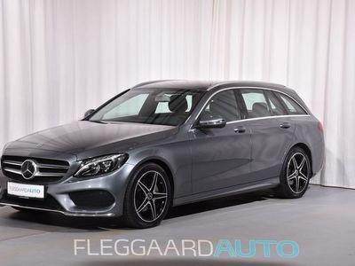 brugt Mercedes C220 d T 2,1 Bluetec Edition C Plus 9G-Tronic 170HK Stc