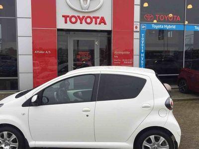 brugt Toyota Aygo Plus 1,0 VVT-I VSC 68HK 3d