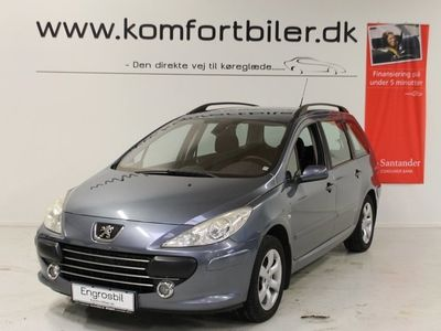used Peugeot 307 1,6 T6 HDi 90 Performance stc.