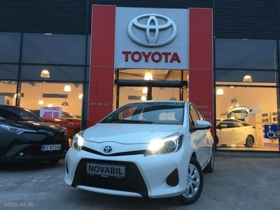 usata Toyota Yaris Hybrid 1,5 B/EL E-CVT 100HK 5d Trinl. Gear