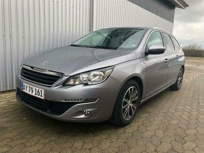 brugt Peugeot 308 SW 1,6 BlueHDi Style 120HK Stc