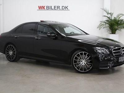 brugt Mercedes E350 0 BlueTEC AMG Line aut.