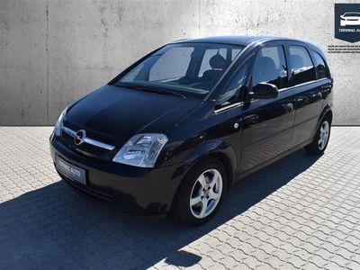 brugt Opel Meriva 1,6 8V Enjoy 87HK - Personbil - Sort