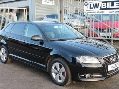 brugt Audi A3 Sportback 1,4 TFSi Ambition