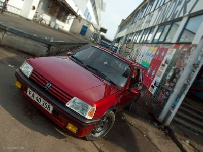 brugt Peugeot 205 1,9 GTi 130HK 3d