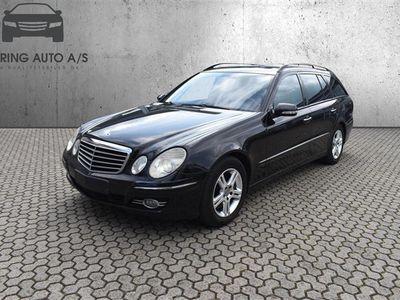 brugt Mercedes E280 CDI aut. 190HK Stc - Personbil - Sort