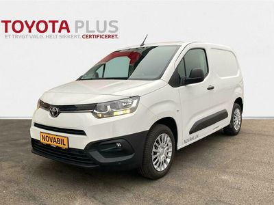brugt Toyota Proace City Medium 1,5 D Comfort Smart Active Vision 102HK Van A+