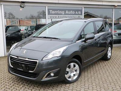 brugt Peugeot 5008 1,6 BlueHDi Style 120HK 6g