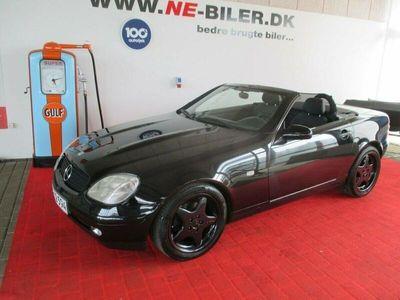 brugt Mercedes SLK230 2,3 Komp.