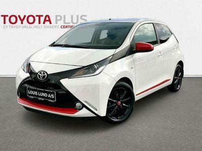 brugt Toyota Aygo 1,0 VVT-I X-pression Safety Sense 69HK 5d A++