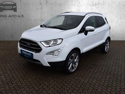 brugt Ford Ecosport 1,0 EcoBoost Titanium 125HK 5d - Personbil - hvidmetal