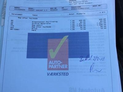 brugt VW Passat 2.0 140 HK Sportline