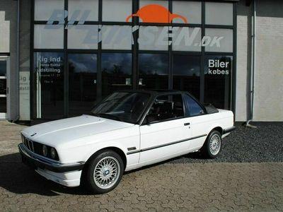 brugt BMW 316 3-serie E30 i Baur Cabriolet
