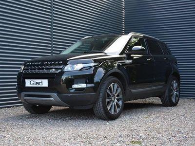 brugt Land Rover Range Rover evoque 2,2 TD4 Pure Tech 4x4 149HK 9g Aut.