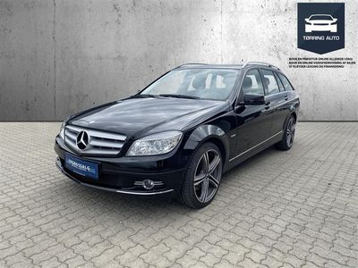 brugt Mercedes C350 d T 3,0 CDI BlueEfficiency 231HK Stc 7g Aut. - Personbil - Sortmetal