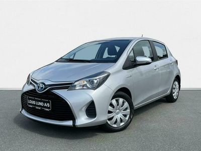 brugt Toyota Yaris Hybrid 1,5 Hybrid E-CVT 100HK 5d Trinl. Gear A+++