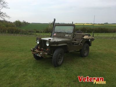 brugt Jeep Willys MC38