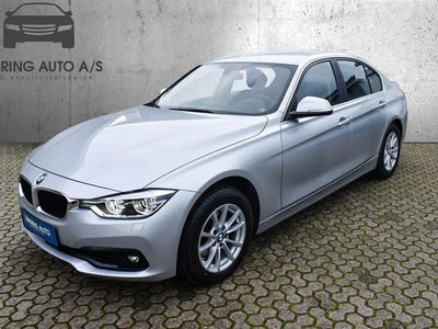 brugt BMW 320 d 2,0 D Steptronic 190HK 8g Aut. - Personbil - sølvmetal