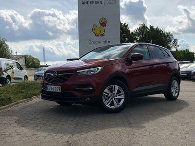 brugt Opel Grandland X 1,2 T Impress Start/Stop 130HK 5d 8g Aut.