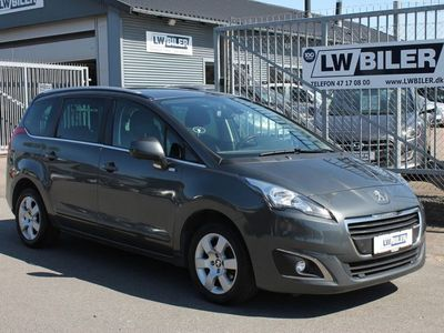 brugt Peugeot 5008 1,6 e-HDi 114 Style ESG 7prs