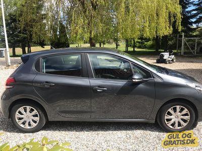 brugt Peugeot 208 Active 1.6 BlueHDI 100 hk