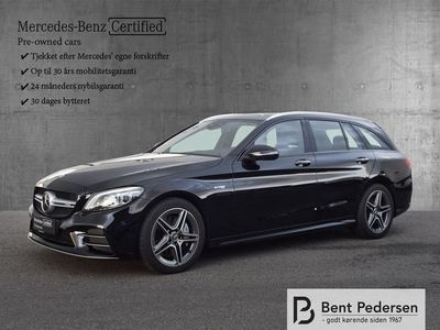 brugt Mercedes C43 AMG AMG T 3,0 V6 4-Matic 9G-Tronic 390HK Stc 9g Aut.