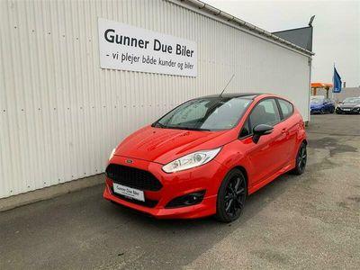 brugt Ford Fiesta 1,0 EcoBoost Red Edition Start/Stop 140HK 3d