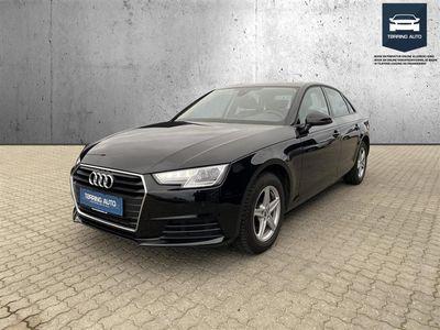 brugt Audi A4 2,0 TFSI 190HK - Personbil - Sortmetal