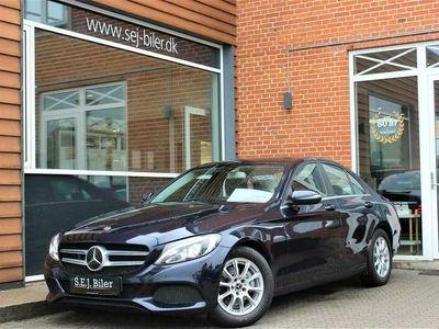 brugt Mercedes C220 d 2,1 D Business Plus 9G-Tronic 170HK 9g Aut. A+