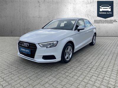 brugt Audi A3 1,0 TFSI 116HK 6g - Personbil - Hvid