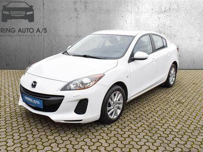 brugt Mazda 3 1,6 DE Advance 115HK 6g - Personbil - hvid