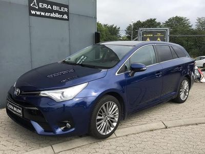 brugt Toyota Avensis Touring Sports 1,8 VVT-I T2 premium + Skyview 147HK Stc 6g