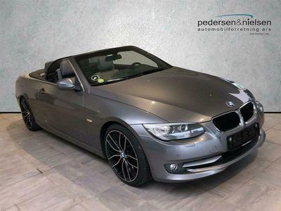 brugt BMW 320 Cabriolet d 2,0 D 184HK 6g