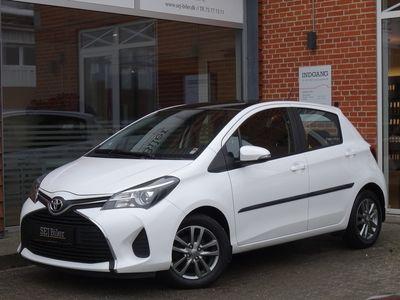 brugt Toyota Yaris 1,3 3 VVT-i T2 99HK 5d