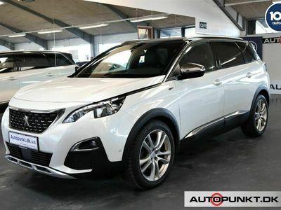 brugt Peugeot 5008 2,0 BlueHDi 180 GT EAT6