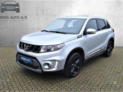 brugt Suzuki Vitara 1,4 Boosterjet 140HK 5d 6g - Personbil - sølvmetal