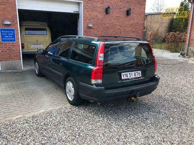brugt Volvo V70 Pæn Volvo V70 2.4 5 Cyl. 140hk