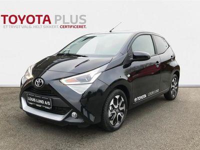 brugt Toyota Aygo 1,0 VVT-I X-Press X-Shift 72HK 5d Aut. A++