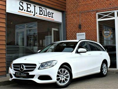 brugt Mercedes C200 d 2,1 Business stc. 136HK aut 5d