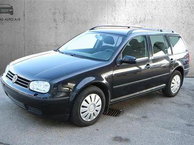 brugt VW Golf Variant 1,9 TDI Trendline 100HK Stc - Personbil - Sortmetal