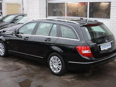 brugt Mercedes C200 2,2 CDi Elegance st.car aut. BE