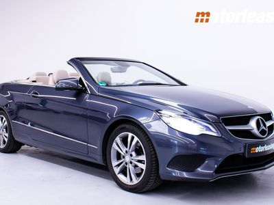 brugt Mercedes E220 2.0 Cabriolet