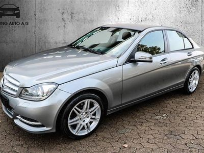 używany Mercedes C180 1,6 K BlueEfficiency 156HK 6g - Personbil - Gråmetal