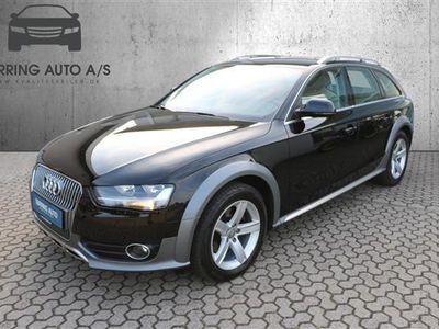 brugt Audi A4 Allroad 2,0 TDI Quat S Tron 190HK Stc 7g Aut. - Personbil - sort