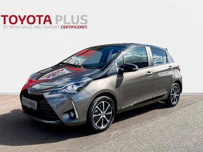 brugt Toyota Yaris 1,5 VVT-I T2 Limited Premium 111HK 5d 6g A+