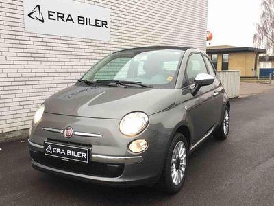brugt Fiat 500C 1,2 Collezione 69HK Cabr.