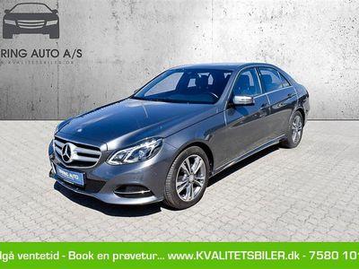 brugt Mercedes E220 2,1 Bluetec 9G-Tronic 170HK 9g Aut. - Personbil - Gråmetal