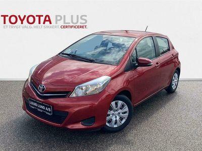 brugt Toyota Yaris 1,3 VVT-I T2 Multidrive S 100HK 5d 6g A